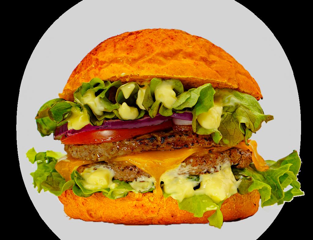 hamburger clasic love de chez le point burger a antibes