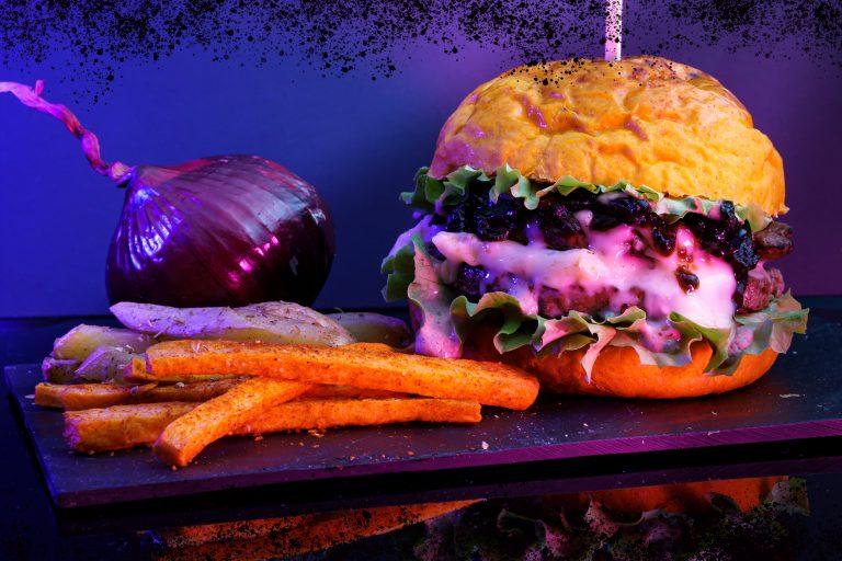 burger voltu le point burger avec frites maison