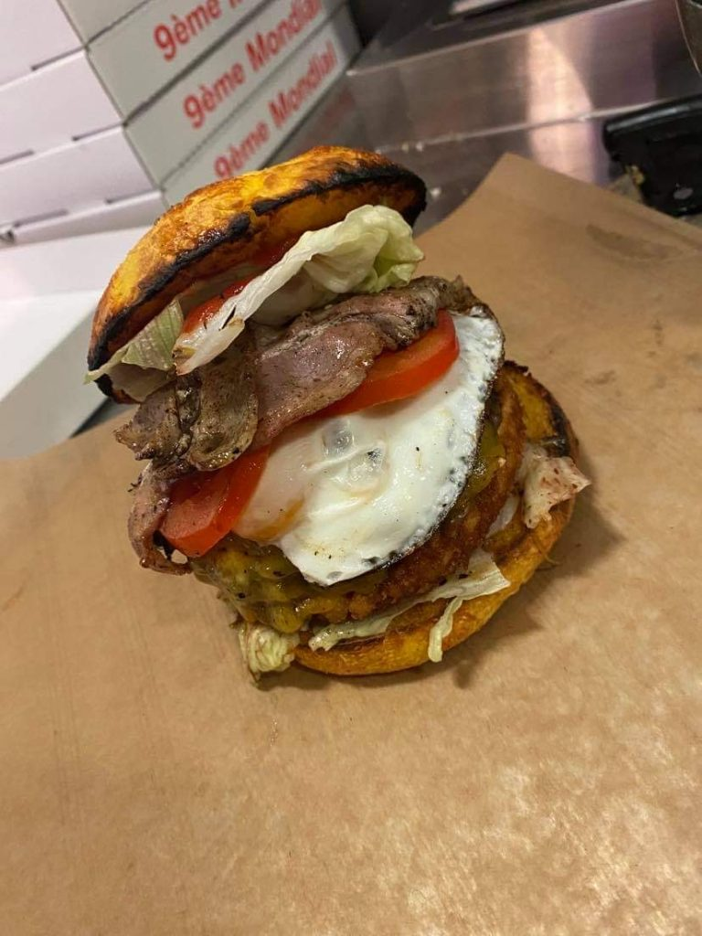 mega burger heart break
